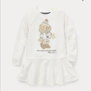 NWT Ralph Lauren Holiday Bear Dress